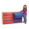 Value Line 3-Section Rest Mat Storage - Holds 8