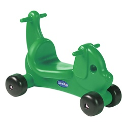 Care Play Puppy Ride-On Walker - Green  (Careplay CPL-2003P)
