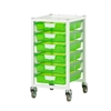 Certwood Nimble Cart - Slim Line - 6 Module - Mobile Storage Cart