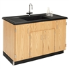 "Diversified Woodcrafts Clean-Up Sink - Molded Polyolefin Top - 55-1/2""W x 28""D (Diversified Woodcrafts DIV-3303K)"
