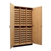 "Diversified Woodcrafts Tote Tray Storage Cabinet - 48"" W x 22"" D (Diversified Woodcrafts DIV-350-4822K)"