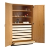 "Diversified Woodcrafts Rock/Paper Storage Cabinet - 48"" W x 30"" D (Diversified Woodcrafts DIV-354-4830K)"