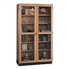 "Diversified Woodcrafts Wall Wood Storage Cabinet w/ Glass Doors - 36"" W x 22"" D (Diversified Woodcrafts DIV-358-3622K)"