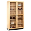Diversified Woodcrafts Tall Glazed Double Doors Storage Cabinet (Diversified Woodcrafts DIV-358-4822K)