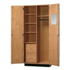 "Diversified Woodcrafts Oak Wardrobe Storage Cabinet - 36"" W x 22"" D (Diversified Woodcrafts DIV-360-3622K)"