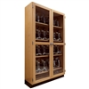 "Diversified Woodcrafts Microscope Storage Cabinet - 48"" W x 16"" D (Diversified Woodcrafts DIV-372-4816K)"