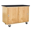 "Diversified Woodcrafts Mobile Lab(Econ) Table - 48""W x 24""D (Diversified Woodcrafts DIV-4102K)"