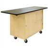 "Diversified Woodcrafts Classic Mobile Demonstration Table - 48"" W x 24"" D<br> (Diversified Woodcrafts DIV-4121MF)"