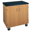 "Diversified Woodcrafts Mobile Storage Cabinet w/ Plastic Laminate Top - 36"" W x 24"" D (Diversified Woodcrafts DIV-4401K)"