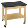 "Diversified Woodcrafts Mobile Demo Cart - Plastic Laminate Top - 36""W x 24""D (Diversified Woodcrafts DIV-4501K)"