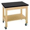 "Diversified Woodcrafts Mobile Demo Cart - ChemGuard Top - 36""W x 24""D(Diversified Woodcrafts DIV-4502K)"