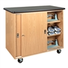 "Diversified Woodcrafts Mobile Balance Storage Cabinet - 48"" W x 24"" D (Diversified Woodcrafts DIV-5201K)"