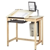 Diversified Woodcrafts Drawing/CAD Table System (Diversified Woodcrafts DIV-CDTC-70)