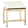 "Diversified Woodcrafts w/ 1 piece Top & Large Drawer - 36""W x 24""D  (Diversified Woodcrafts DIV-DT-1A30)"