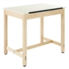 Diversified Woodcrafts Art/Drafting Table - 1 Piece Adjustable (Diversified Woodcrafts DIV-DT-30A)