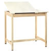 "Diversified Woodcrafts Art / Drafting Table w/ 2 Piece Adjustable - 42""W x 30""D  (Diversified Woodcrafts DIV-DT-60SA)"