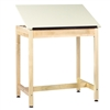 "Diversified Woodcrafts Art/Drafting Table - 36""W x 24""D (Diversified Woodcrafts DIV-DT-9A37)"