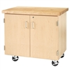 "Diversified Enclosed Mobile Demonstration Cabinet - 36""W x 24""D (Diversified Woodcrafts DIV-EMDC-2436M)"