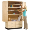 "Diversified General Storage Cabinet - 48""W x 22""D (Diversified Woodcrafts DIV-GSC-8)"