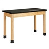 "Diversified Woodcrafts Science Table - Plain Apron - ChemGuard Top - 48""W X 24""D<br> (Diversified Woodcrafts DIV-P7102K36N)"