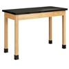 "Diversified Woodcrafts Science Table - Plain Apron - Epoxy Resin Top - 48""W X 24""D<br> (Diversified Woodcrafts DIV-P7106K36N)"