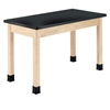"Diversified Woodcrafts Science Table - Plain Apron - Epoxy Resin Top - 48""W X 24""D<br> (Diversified Woodcrafts DIV-P7106M30N)"