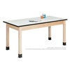 "Diversified Woodcrafts Science Table - Plain Apron - Imprint Top - 60""W X 30""D<br> (Diversified Woodcrafts DIV-P7149M30N)"