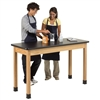 "Diversified Woodcrafts Science Table - Plain Apron - Plastic Laminate Top - 60""W X 24""D<br> (Diversified Woodcrafts DIV-P7601K36N)"
