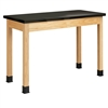 "Diversified Woodcrafts Science Table - Plain Apron - Epoxy Resin Top - 60""W X 24""D<br> (Diversified Woodcrafts DIV-P7606K36N)"