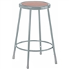 "Diversified Woodcrafts Hardboard Seat Steel Stool - 24""H<br> (Diversified Woodcrafts DIV-S-24)"