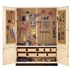 "Diversified Woodcrafts Tool Storage Cabinet with Tools - 60""W x 22""D(Diversified Woodcrafts DIV-TC-12WT)"