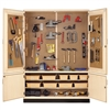 "Diversified Woodcrafts Tool Storage Cabinet - 48""W x 22""D(Diversified Woodcrafts DIV-TC-4812)"