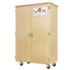"Diversified Woodcrafts VEX Robotics Mobile Storage Cabinet - 44""W x 24""D (Diversified Woodcrafts DIV-VXM-4424M)"