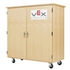"Diversified Woodcrafts VEX Robotics Storage Cabinet - 54""W x 24""D (Diversified Woodcrafts DIV-VXP-5024M)"
