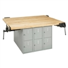 "Diversified Woodcrafts 4-Station Workbench w/ Vises - 64""W X 54""D<br> (Diversified Woodcrafts DIV-WB12-4V)"