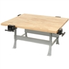 "Diversified Woodcrafts 4-Station Workbench w/ Vises - 64""W X 54""D<br> (Diversified Woodcrafts DIV-WBML4-4V)"
