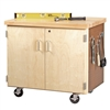 "Diversified Mobile Storage Cabinet - 36""W x 24""D (Diversified Woodcrafts DIV-WMSC-3135)"