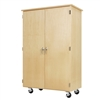 "Diversified Woodcrafts Robotics Mobile Storage Cabinet - 44""W x 24""D (Diversified Woodcrafts DIV-XM-4424M)"