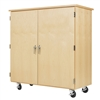 "Diversified Woodcrafts Robotics Storage Cabinet - 54""W x 24""D (Diversified Woodcrafts DIV-XP-5024M)"