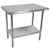 "Diversified Woodcrafts Culinary Stainless Steel Table - 36""W X 30""D<br> (Diversified Woodcrafts DIV-XS-3630)"