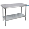 "Diversified Woodcrafts Culinary Stainless Steel Table - 60""W X 30""D<br> (Diversified Woodcrafts DIV-XS-6030)"
