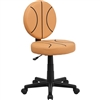 Flash Furniture Basketball Task Chair with Arms<br>(FLA-BT-6178-BASKET-GG)
