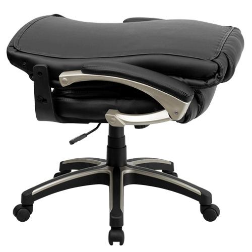 Flash Furniture FLABT9875HGG High Back Folding Black Leather