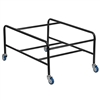 Flash Furniture HERCULES Series Black Steel Sled Base Stackable School Chair Dolly<br>(FLA-FD-SCHDOLLY-GG)