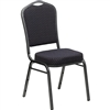 Flash Furniture HERCULES Series Crown Back Stacking Banquet Chair with Patterned Fabric<br>(FLA-HF-C01-GG)