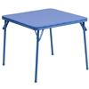 Flash Furniture Kids Blue Folding Table<br>(FLA-JB-TABLE-GG)