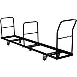 Flash Furniture Vertical Storage Folding Chair Dolly - 35 Chair Capacity<br>(FLA-NG-DOLLY-309-50-GG)