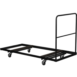 Flash Furniture Steel Folding Table Dolly for Rectangular Folding Tables<br>(FLA-NG-DY3072-GG)