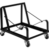 Flash Furniture HERCULES Series Black Steel Sled Base Stack Chair Dolly<br>(FLA-XU-MC168-DOLLY-GG)
