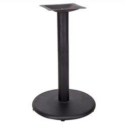 Flash Furniture 18'' Round Restaurant Table Base with 3'' Dia. Table Height Column<br>(FLA-XU-TR18-GG)
